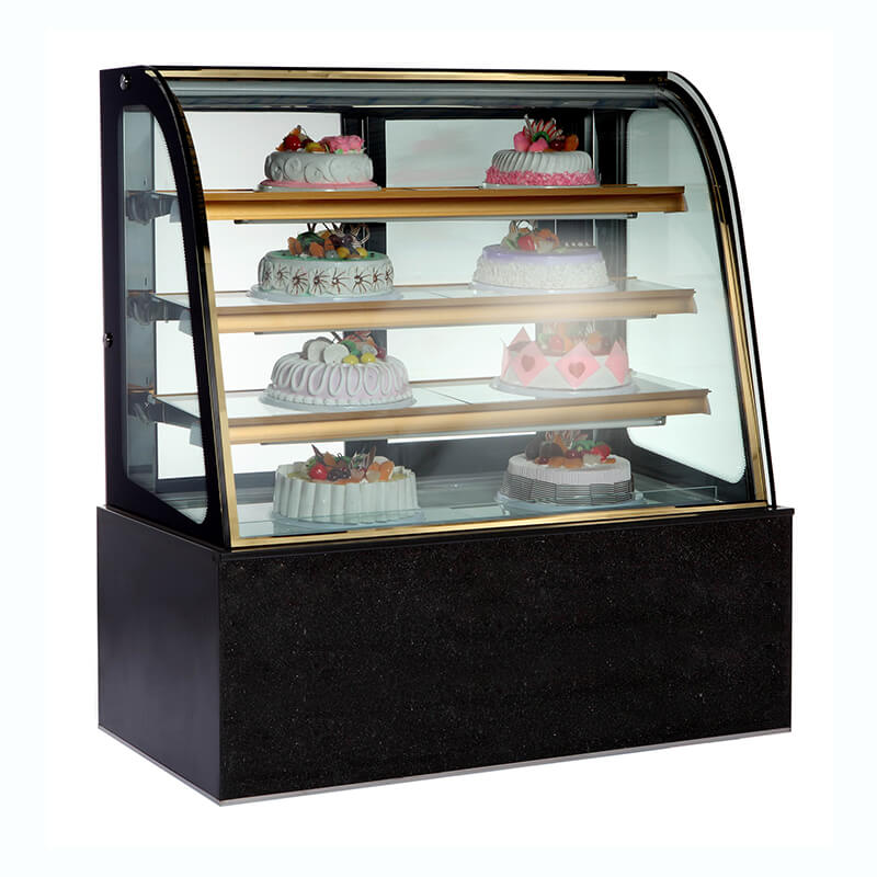 Light Refrigerated Island Freezer for Food Refrigerating Equipped with Automatic Defrost System