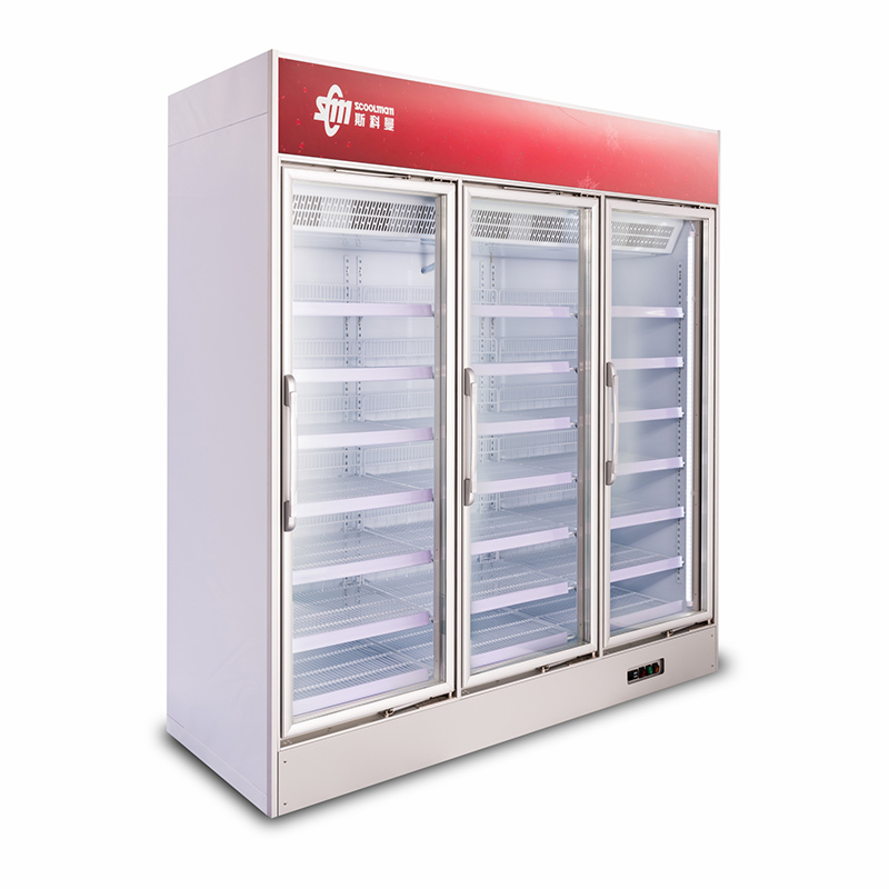 2018 Most Popular Supermarket Upright Cooler for Sale of Dairy Products with Brand-name Compressors