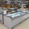 2018 New High Quality Supermarket Island Freezer for Display And Sales with High Efficiency Control Technology